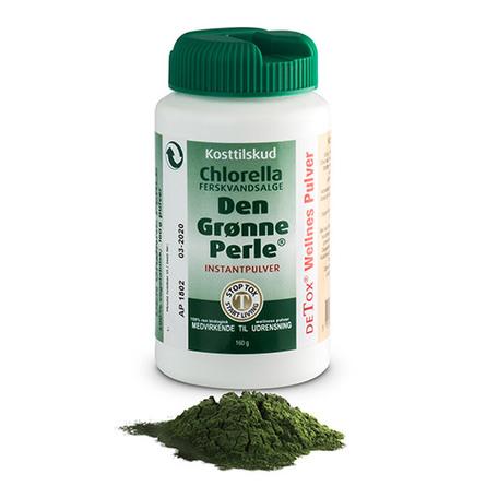 Chlorella Den grønne perle instant 160 g