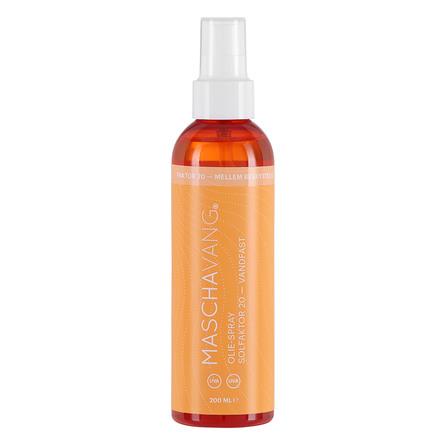 Mascha Vang Solspray Faktor 20 Gennemsigtig 200 ml