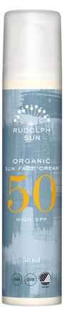 Rudolph Care Organic Sun Face Cream SPF 50 50 ml