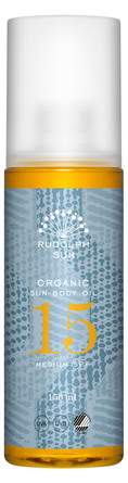 Rudolph Care Organic Sun Body Oil SPF 15 150 ml
