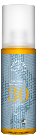 Rudolph Care Organic Sun Body Oil SPF 30 150 ml
