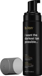 b.tan Selvbruner Mousse I Want The Darkest Tan Possible