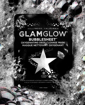 GlamGlow Bubble Sheet Mask 1 stk.