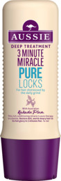Aussie Deep Treatment 3 Minute Miracle Pure Locks 250ML