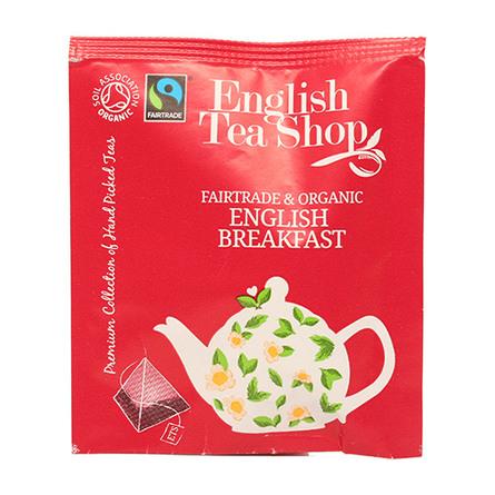 English Tea Shop English Breakfast tea Øko  50 breve