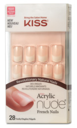 Dehn Kiss Acrylic Nude French nails KAN01