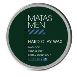 Matas Striber Men Hard Clay Wax 75 ml