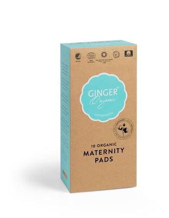 Ginger Organic Bind - Efterfødsel 10 stk