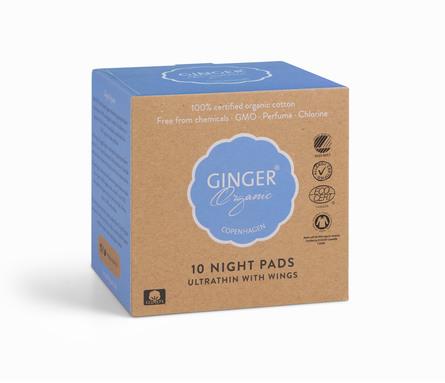 GingerOrganic Bind - Nat, 10 stk.