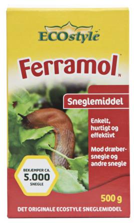 ECOstyle Sneglefri Ferramol 500 g