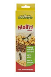 ECOstyle MølFri Melmøl 4 stk