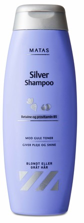 Matas Striber Silver Shampoo til Gråt og Blondt Hår 500 ml