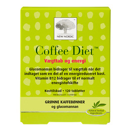 New Nordic Coffe Diet™ 120 tabletter