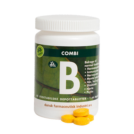 Dansk Farmaceutisk Industri Combi B depottabletter 60 tabl.