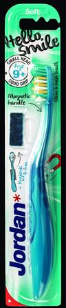 Jordan Sstep 4 tandbørste Hello Smile 9-12 år