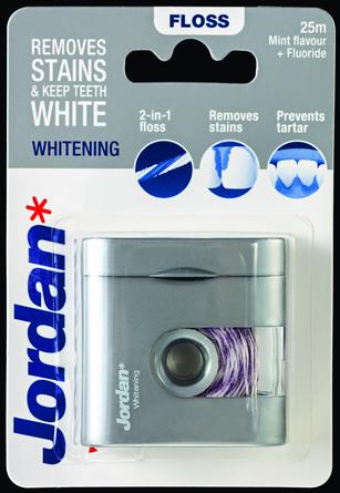 Jordan Tandtråd Dental Whitening Floss 25 m