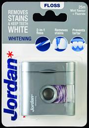 Jordan Dental Whitening Floss 25 m