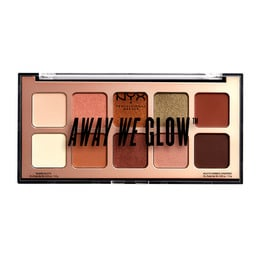 NYX PROFESSIONAL MAKEUP Away We Glow Shadow Palette 02 Hooked On Glow