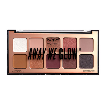 NYX PROFESSIONAL MAKEUP Away We Glow Shadow Palette 01 Love Beam
