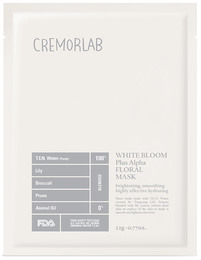 Cremorlab TEN Water White Bloom Triple Bright Floral Mask 1 stk