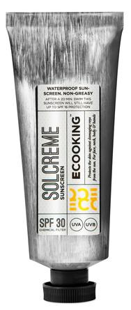 Ecooking Solcreme SPF 30 med UVA + UVB 50 ml