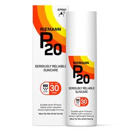 P20 Riemann P20 Solbeskyttelse Spf 30 - spray, 100 ml