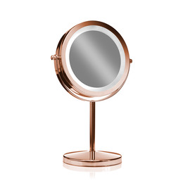Gillian Jones Bordspejl med Lys x 10 Rose Gold