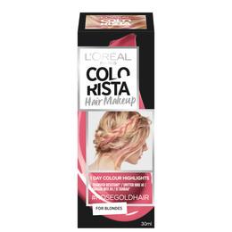 L'Oréal Paris Colorista Hair Makeup 7 Rosegold