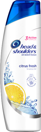 Head & Shoulders Citrus Fresh Skælshampoo 280 ml