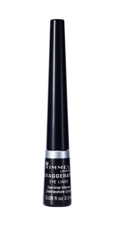 Rimmel Exaggerate Flydende Eyeliner 001 Black