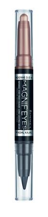 Rimmel Magnif'Eyes 2i1 Øjenskygge & Eyeliner 008 008 On Taupe of the World