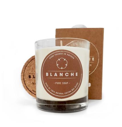 Blanche Pure Soap Duftlys 145 g (Medium)