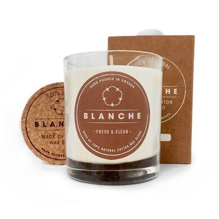 Blanche Fresh & Clean Duftlys 210 g (Large)