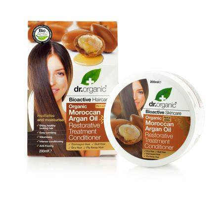 Dr. Organic Moroccan Argan Oil Restora Treatment Conditioner 200 ml