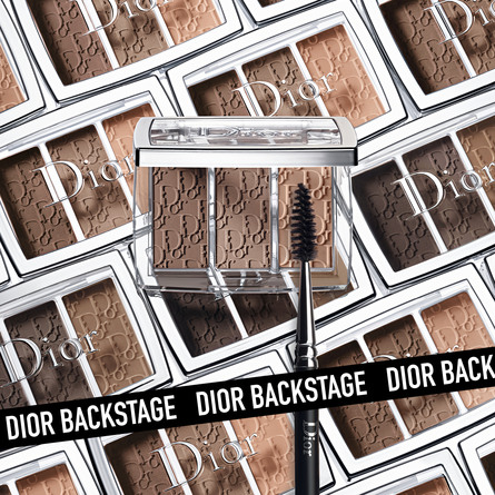 DIOR BACKSTAGE Backstage Double ended brow brush N°25