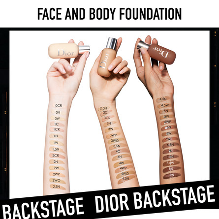 DIOR BACKSTAGE FACE & BODY FOUNDATION 1N 1N