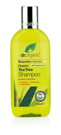Dr. Organic Tea Tree Shampoo 265 ml 265 ml