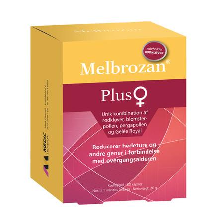 Melbrozan Melbozan Plus 60 kapsler