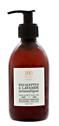 100BON Hand Soap Eucalyptus & Lavande Aromatique 300 ml