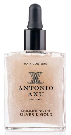 Antonio Axu Dark Gold Shimmering Oil Silver & Gold