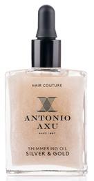 Antonio Axu Light Gold Shimmering Oil Silver & Gold