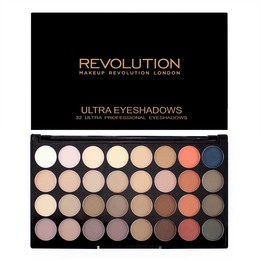 Makeup Revolution Ultra 32 Eyeshadow Flawless Matte 2