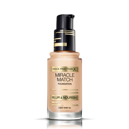 Max Factor Miracle Match Foundation Light Ivory 04