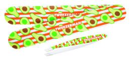 Tweezerman Avocado Duo Set - Skrå Pincet og Neglefil