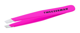 Tweezerman Pincet Mini Skrå Flamingo