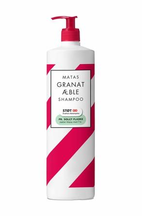 Matas Striber Special Edition Granatæble Shampoo 1000 ml