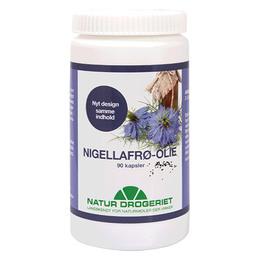Natur Drogeriet Nigellafrøolie  90 kaps.