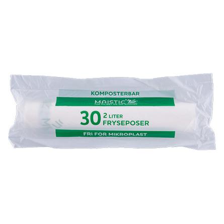 Komposterbare fryseposer 2L