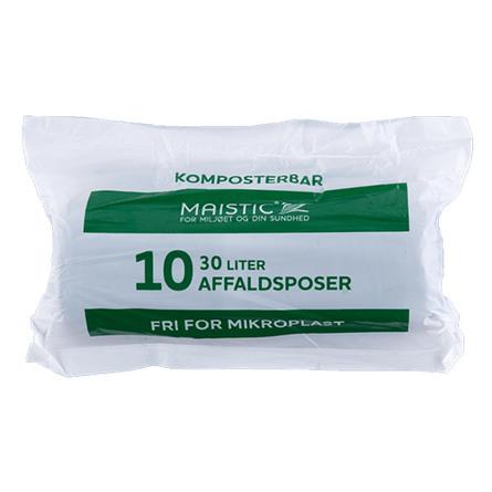 Komposterbare affaldsposer 30L
