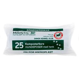 Komposterbare hundeposer med hank. Dansk Kennel